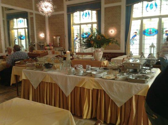 Hotel Europa Splendid: Breakfast buffet