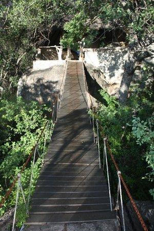 Camp Amalinda : Room walkway
