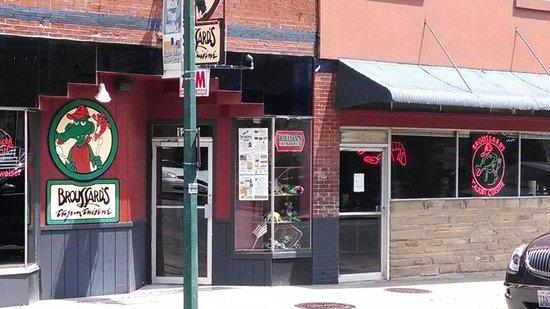 Broussard's Cajun Cuisine: Across the street view.