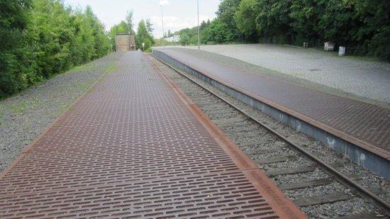Gleis 17, Grunewald: Metal Memorials