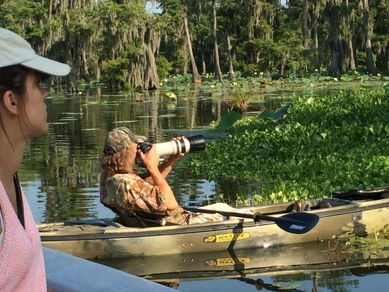 Cajun Country Swamp Tours : our photgrapher