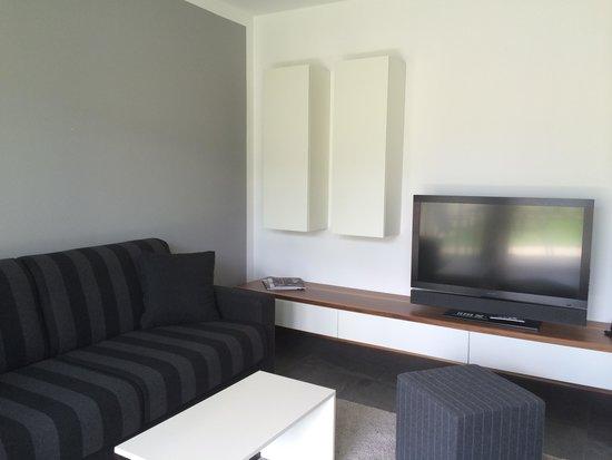 Hidalgo Suites: Wohnzimmer