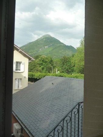 Hôtel Restaurant l'Ayguelade : uitzicht vanuit de kamer.