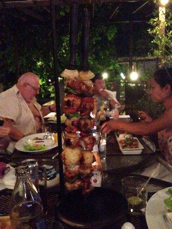 Mamma Mia Grill & Restaurant Rawai: Kebab Chiken 👌