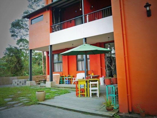 Chenglin Homestay: 橙林小徑民宿內側