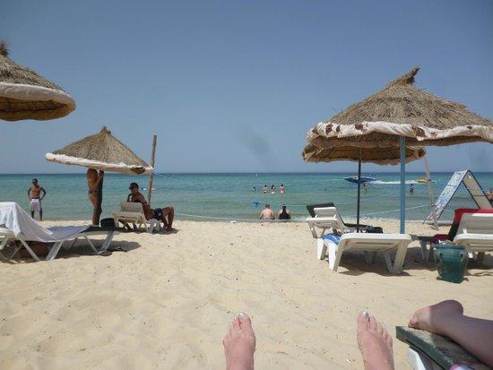 Tej Marhaba Hotel : Hotel Beach