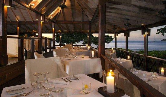 Hermitage Bay: Restaurant