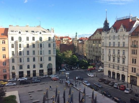 InterContinental Prague : View from the room
