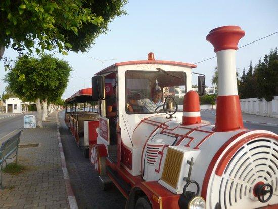 Tej Marhaba Hotel: Train - To Port El Kantoui