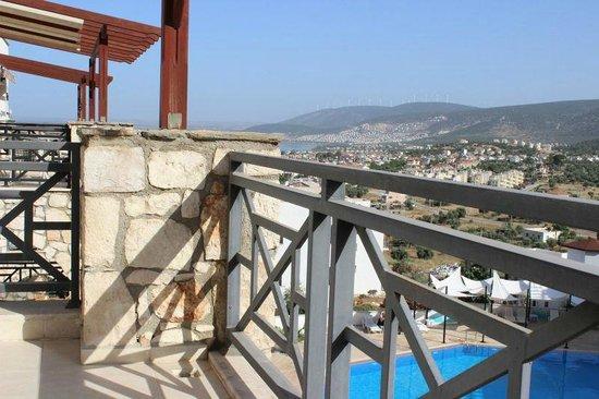 Mandalya Gardens: balcony view