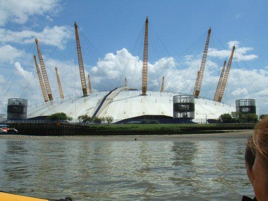 Thames RIB Experience: O2 Arena