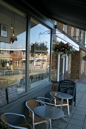 The Norfolk Deli: Our main window showcases some of the many wonderful products made in Norfolk