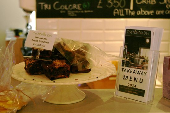 The Norfolk Deli: Bread Pudding is just one of the items we now make in house