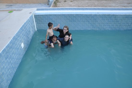 Berber Cultural Center: at the pool
