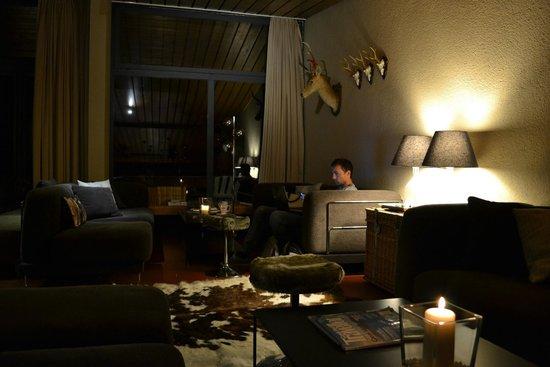 Saanewald Lodge: Fire Place Lounge