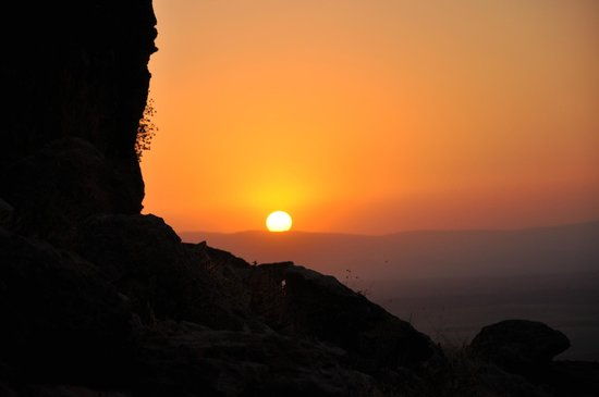 Berber Cultural Center: View of the sunset