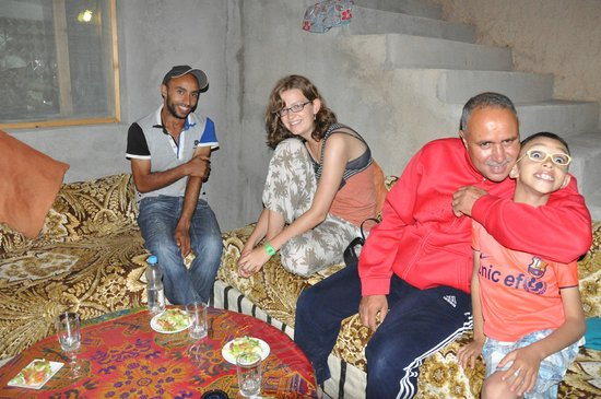 Berber Cultural Center: Khalid, Marion and Mohamed
