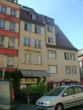 Suisse Hotel: Fachada do hotel