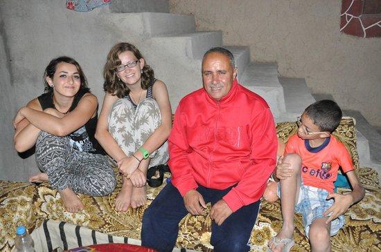 Berber Cultural Center: Me, Marion, Mohamed and Anir