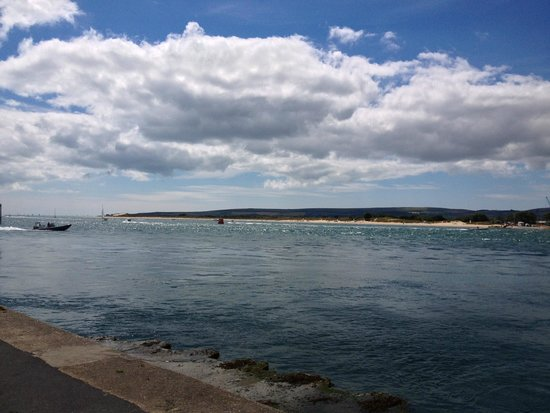 View of Studland from Sandbanks