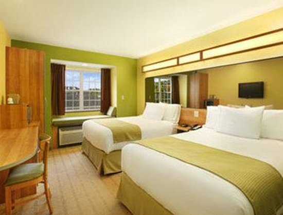 Microtel Inn & Suites by Wyndham York : Standard Double Bed Room