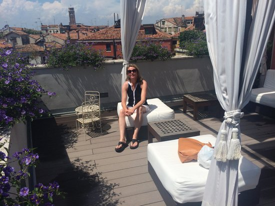 B&B Bloom Venice: Roof Terrace