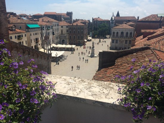 B&B Bloom Venice: View from roof terrace