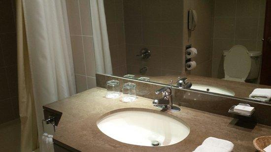 Los Tallanes Hotel & Suites: Lavamanos comodo!!!