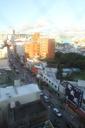 Hotel JAL City Naha : View from room