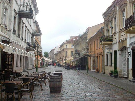 Old Town Kaunas: В старом городе