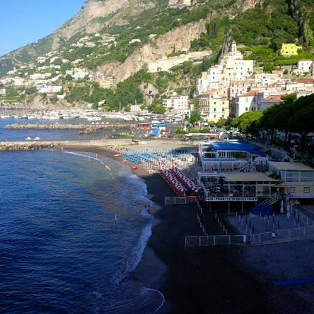 Hotel Marina Riviera: Amalfi from the Marina Riviera