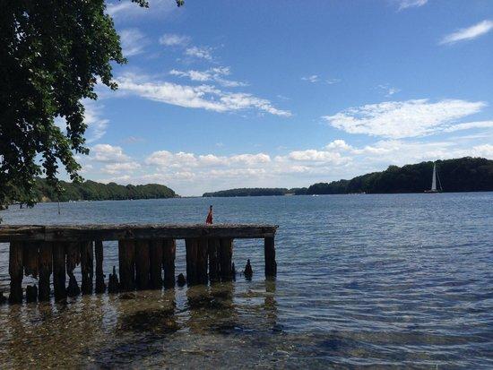 Hindsgavl Slot: beach
