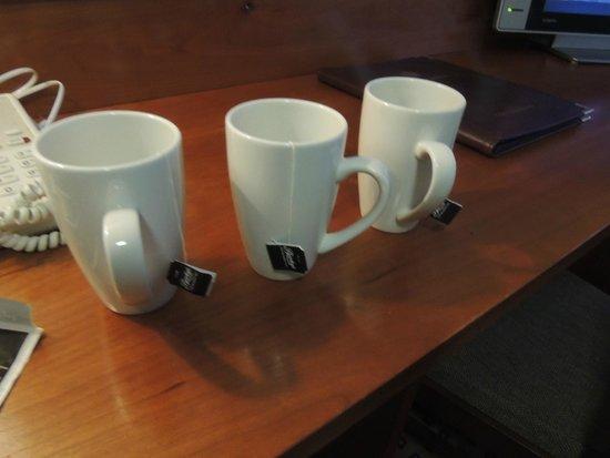 Cassidys Hotel: necessaire pour thé, café
