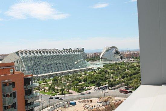 ILUNION Aqua 4: las vistas desde una cuarta planta