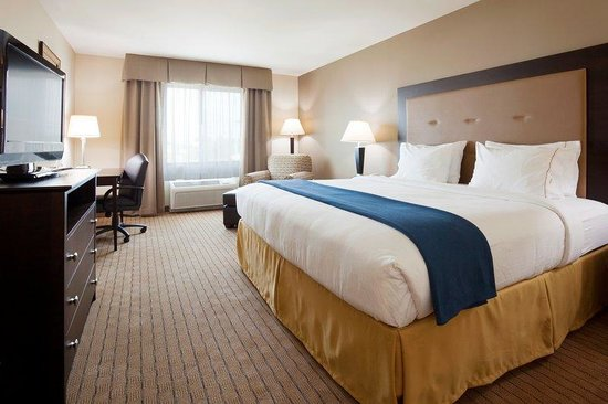 Holiday Inn Express Hotel & Suites Madison-Verona: King Bed Standard Guest Room
