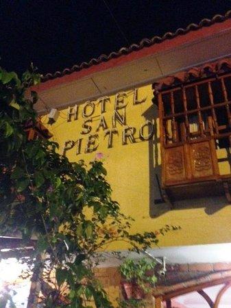 Hotel San Pietro: Fachada