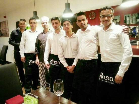 Rasa Indian Restaurant: Few of our team members