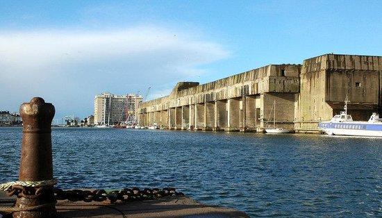 Holiday Inn Express Saint Nazaire : The submarine base