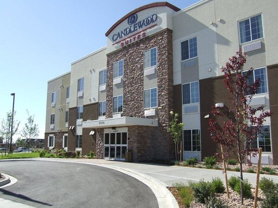 Candlewood Suites Loveland: Studio Suites with full Kitchens in every suite.