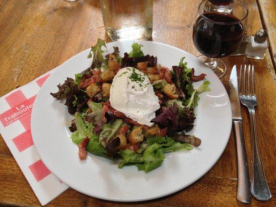 La Traboulerie : Salade Lyonnaise