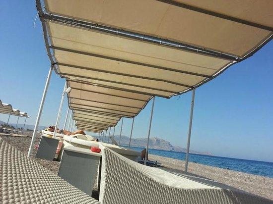 Kalathos Beach Summer Lov Sunbeds