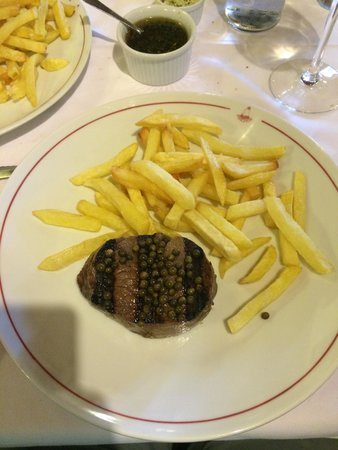Poncho's: Perfect 200g fillet steak.