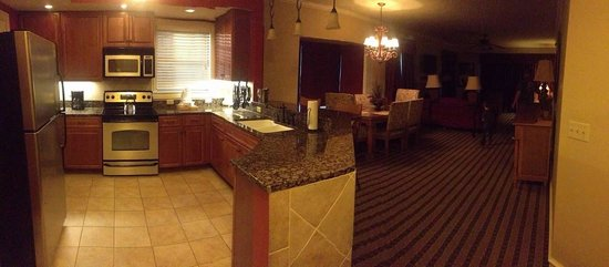 Pano Of 4 Bedroom Suite Picture Of Riverstone Resort Spa Pigeon Forge Tripadvisor