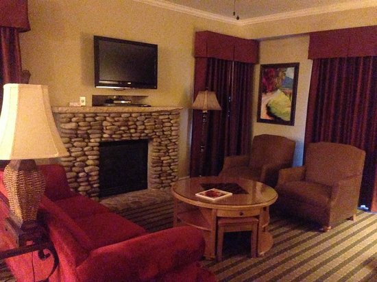 RiverStone Resort & Spa: living room