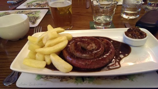 Three Shires Inn: £13.99 ! come on.