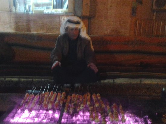 Arab Divers: Evening by fire pit and b.b.q