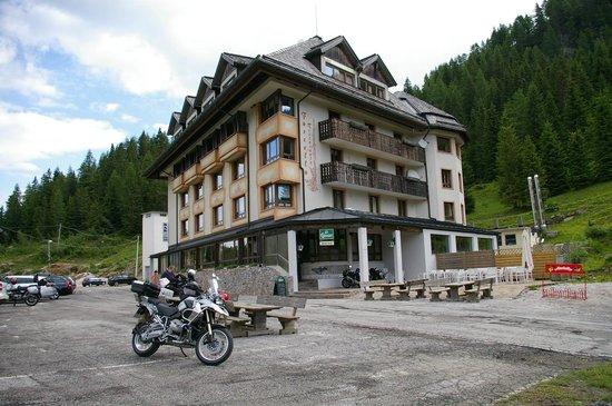 Al Gallo Forcello: Hotel von aussen