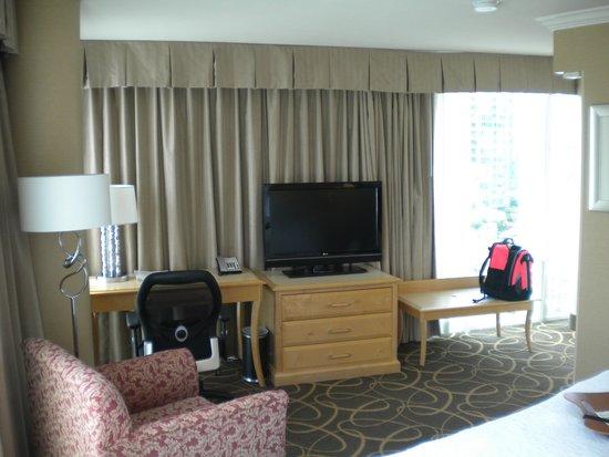 Hampton Inn & Suites Downtown Vancouver: room
