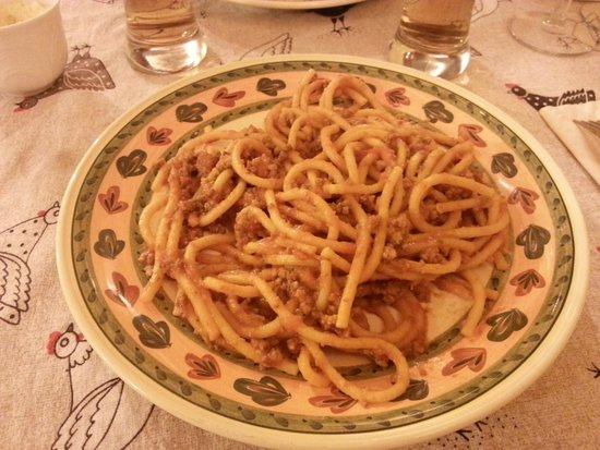 Taverna Del Fiorentino: pici al ragù