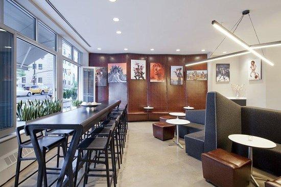 Lounge Foto Di Nu Hotel Brooklyn Tripadvisor